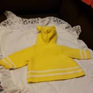 Baby Gap Knitted 3-6 Mths Old Hoodie Sweater